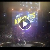18,000 people in the O2 Arena in Prague with a special message for the Vegas  Knighthoods